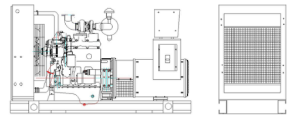 Générateur diesel 24KW
