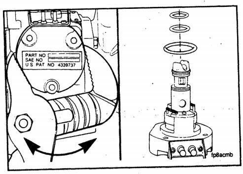 Cummins Engine – Actuator Installation in an EFC Fuel Pump Housing