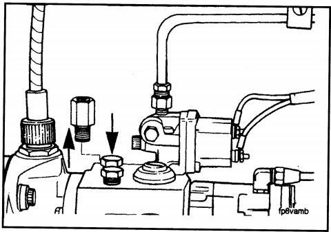 Cummins Engine Actuator Installation In An EFC Fuel Pump