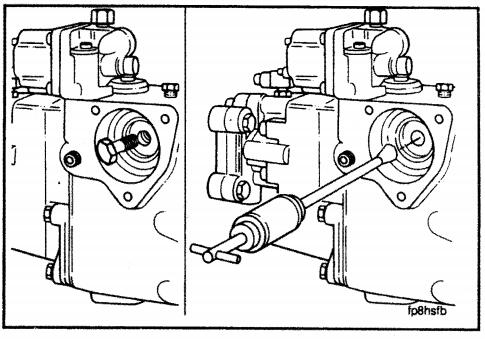 Cummins Engine – Actuator Installation in an EFC Fuel Pump