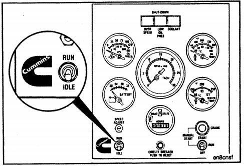 System Adjustments of Single Unit Governor for Cummins Engine