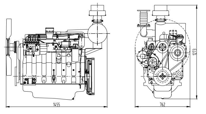 shangchai diesel generator sc9d310d2 technical data