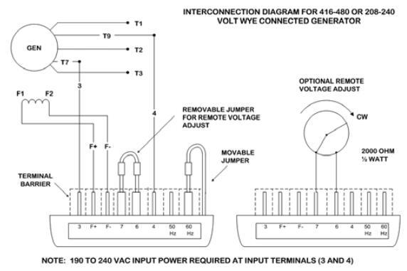 Marathon Generator SE350 Voltage Regulator Instruction Manual
