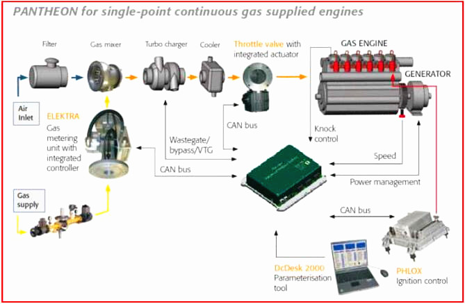 Gas Engine Control System