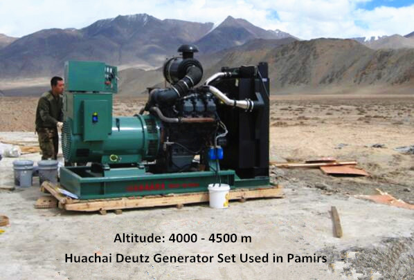 Deutz generator set used in plateau