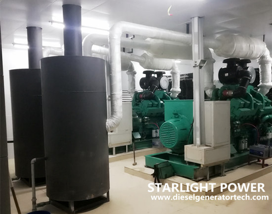 diesel generator room