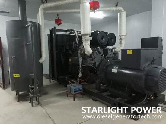 Shangchai generators