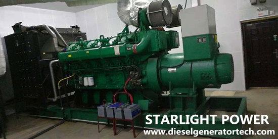 1200kw electric generator