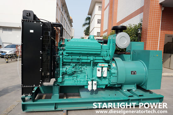 Genset with base bottom fuel tank