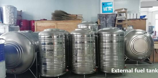 External fuel tank of genset