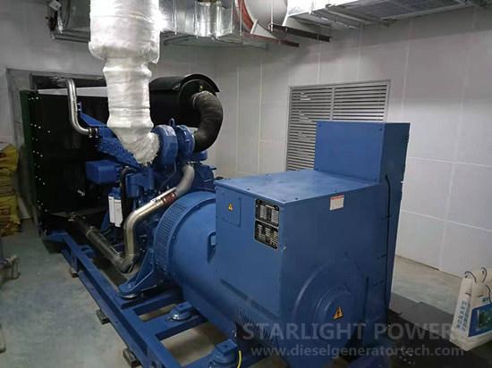 Yuchai generator set