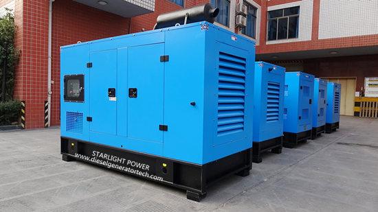 Rainproof diesel generator