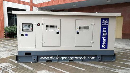 soundproof generator set