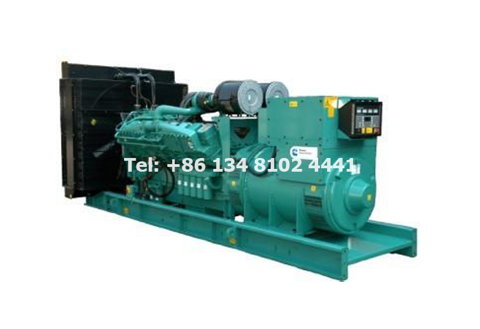 110KW 137.5KVA Volvo Diesel Generator Set