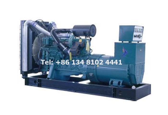 600KW 750KVA Volvo Diesel Generator Set