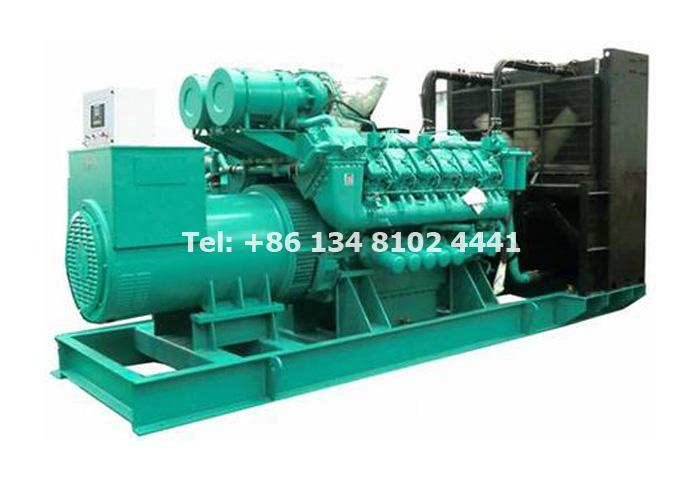1000KW 1250KVA Perkins Diesel Generator Set