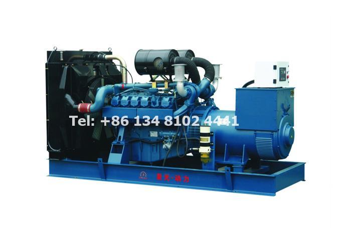 550KW 687.5KVA Doosan Daewoo Diesel Generator Set