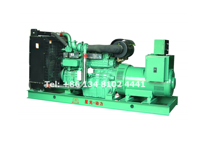 40KW 50KVA Yuchai Diesel Generator Set