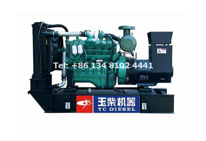 55KW 68.75KVA Yuchai Diesel Generator Set