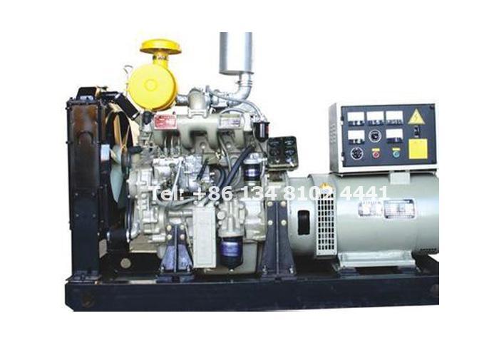 50KW 62.5KVA Weichai Diesel Generator Set
