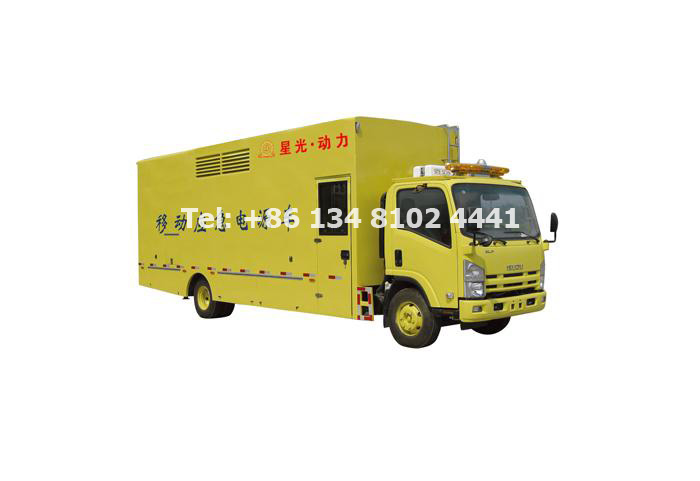 Starlight Truck Mounted Mobile Generator