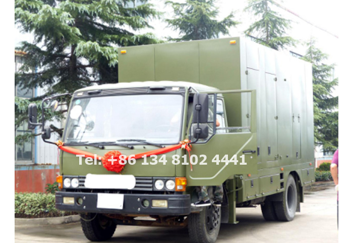 Starlight Truck Mounted Mobile Generator