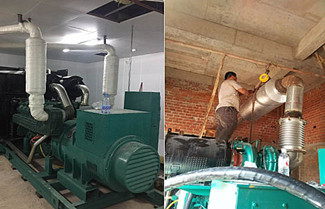 Generator Set Noise Source And Solution