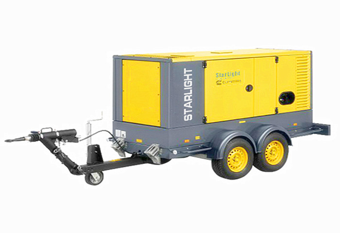 Starlight Mobile Trailer Genset