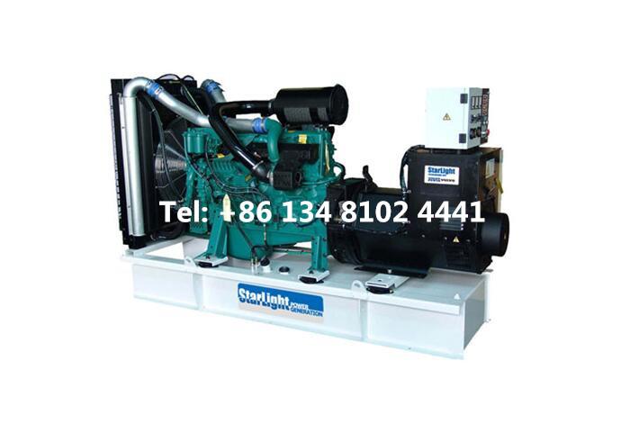 150KW 187.5KVA Volvo Diesel Generator Set