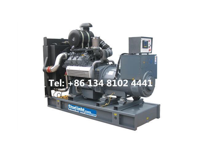400KW 500KVA Deutz Diesel Generator Set