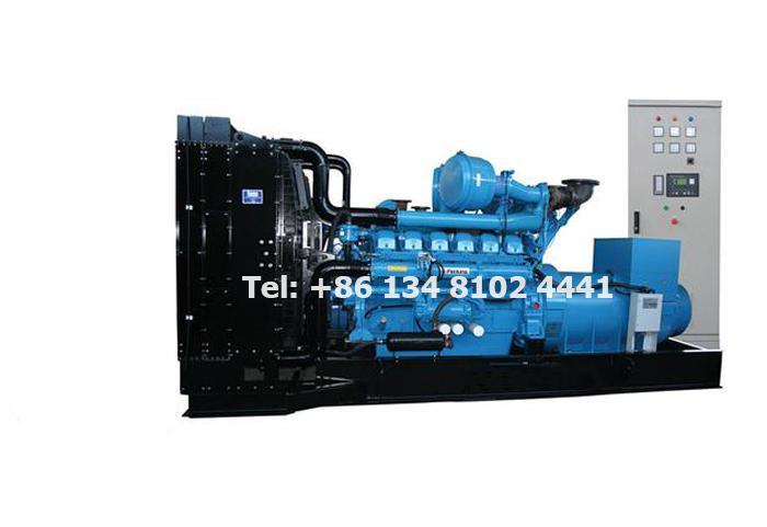 550KW 687.5KVA Perkins Diesel Generator Set