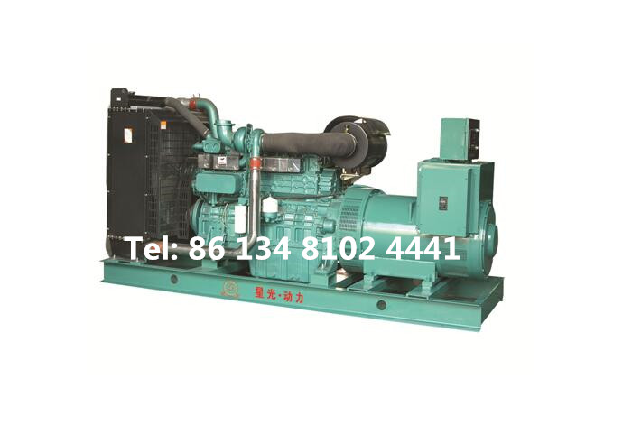 200KW 250KVA Yuchai Diesel Generator Set