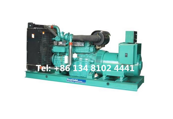 400KW 500KVA Yuchai Diesel Generator Set