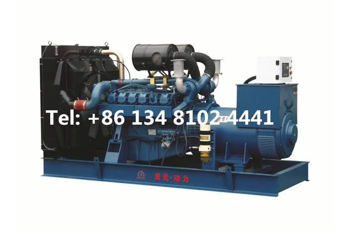 500KW 625KVA Doosan Daewoo Diesel Generator Set