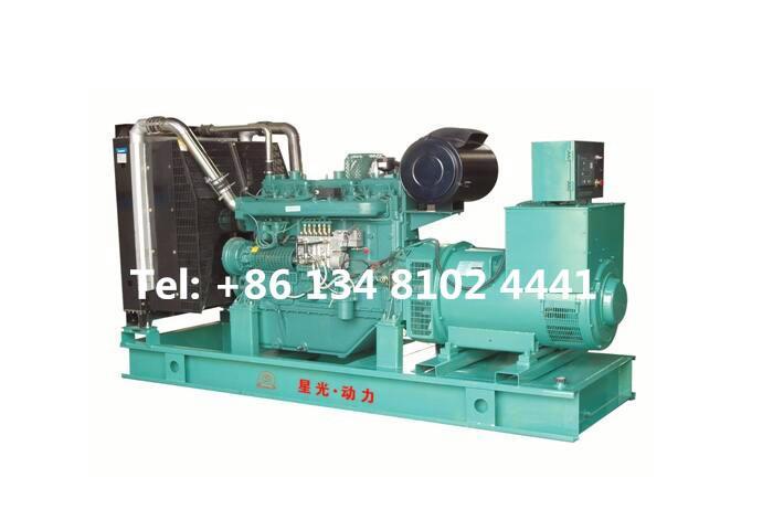 500KW 625KVA Wuxi Diesel Generator Set