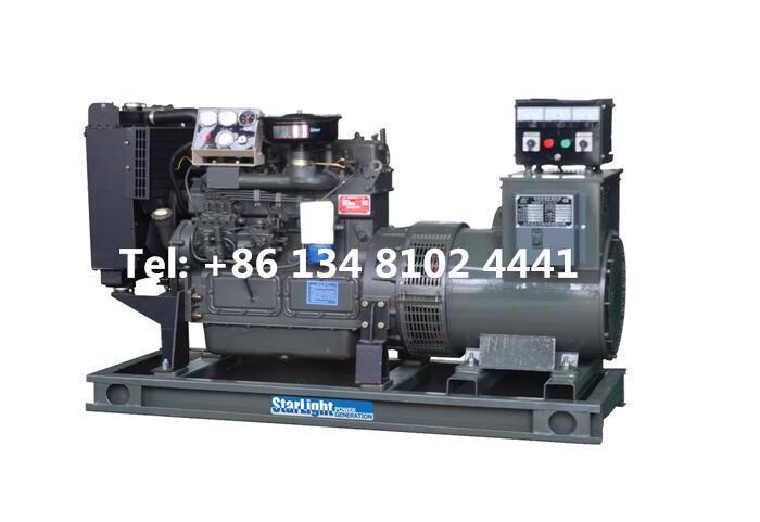 55KW 68.75KVA Weichai Diesel Generator Set