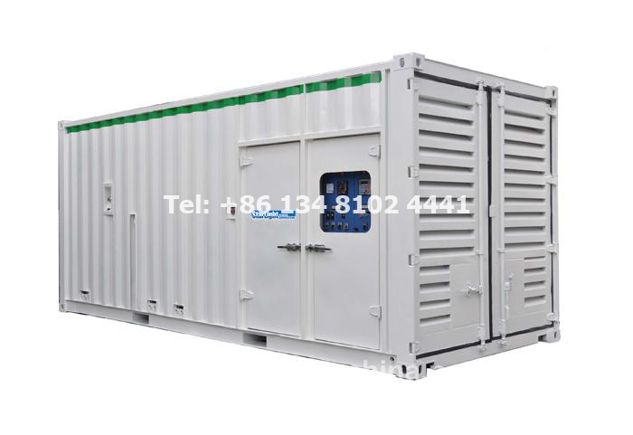 What is the Application of Container Generator Set