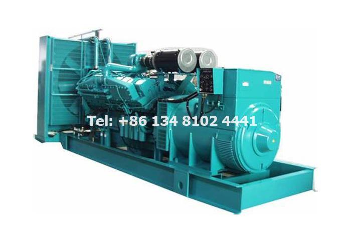 Our Diesel Generator Certificate
