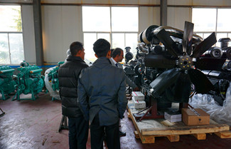 Shangchai Diesel Generator SC4H180D2 Technical Data