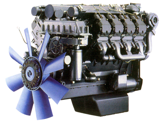 Gear Train Cylinder Head and Valve System of Deutz