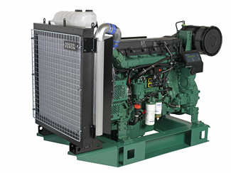 Volvo Penta Diesel Engine Illustration