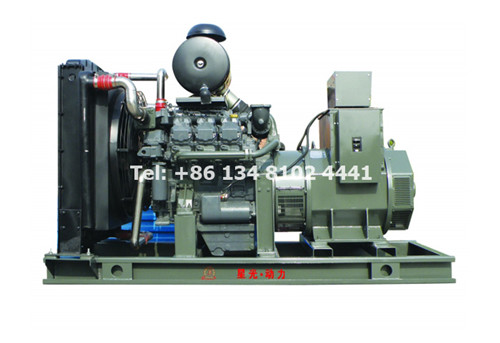 How Much Diesel Generator Set Power Should Be Fitted to a Motor?