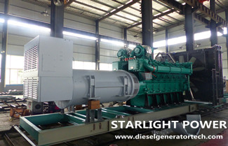 Starlight Power Signed 2 Sets 1600KW Yuchai Diesel Generator with Nestle Shuangcheng Ltd