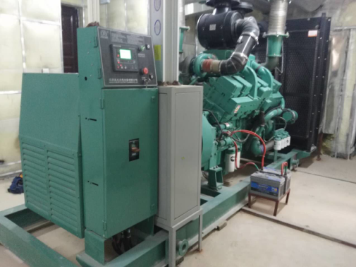 Fire Inspection of Diesel Generator Set for Real Estate