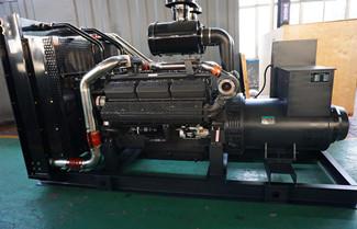 300KW 375KVA Shangchai Generator SC15G500D2 Technical Data