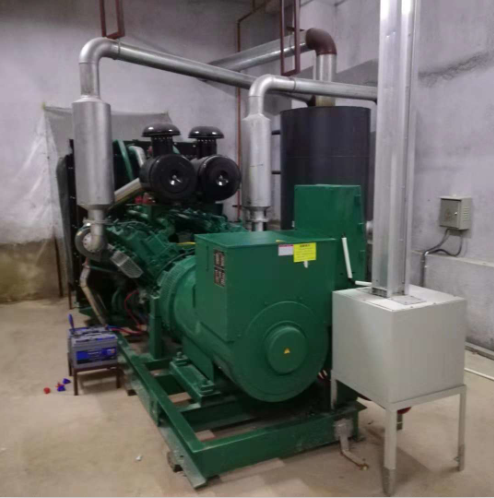 Design and Installation of Exhaust System of Diesel Generator Set