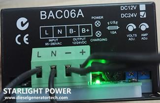 SmartGen BAC06 Series Battery Charger Installation Instructions