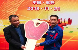 Starlight Company Participated in the Handover Ceremony of China's First Largest Power Gas Generator Developed by Yuchai Group