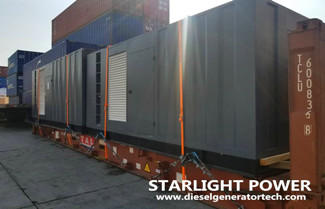 Export 500KW and 1000KW Cummins Container Silent Diesel Generator Sets to Ethiopia