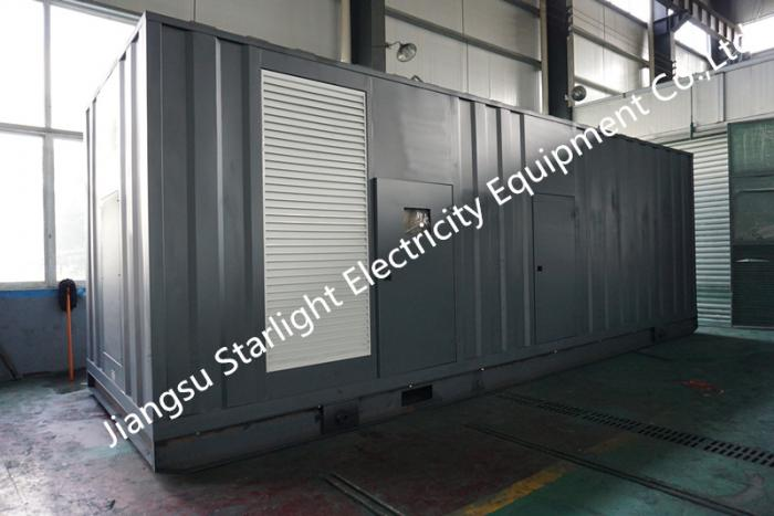 700KW 875KVA Low Noise Containerized Diesel Generator Set